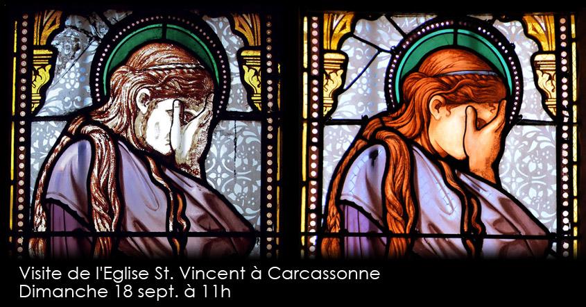Journées du patrimoine: l'atelier d'architecture SERRA vous invite à venir découvrir l'Église Saint-Vincent à Carcassonne et sa restauration, le dimanche 18 septembre à 11h.