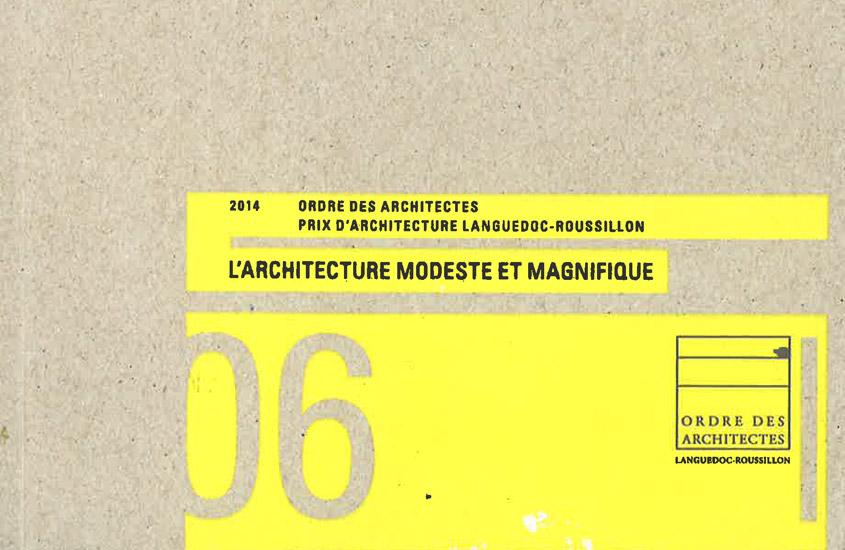 Ordre des architectes Architecture modeste et magnifique Vers un jardin extraordinaire  - Aménagement des jardins l'évêché à Narbonne