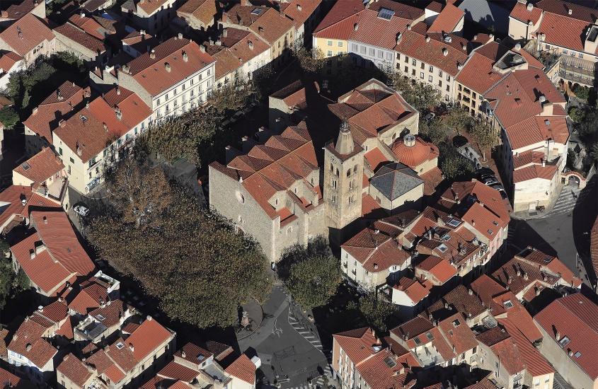 Fin de l'étude de diagnostic de l'Eglise Saint-Pierre à Prades, classée au titre des monuments historiques.