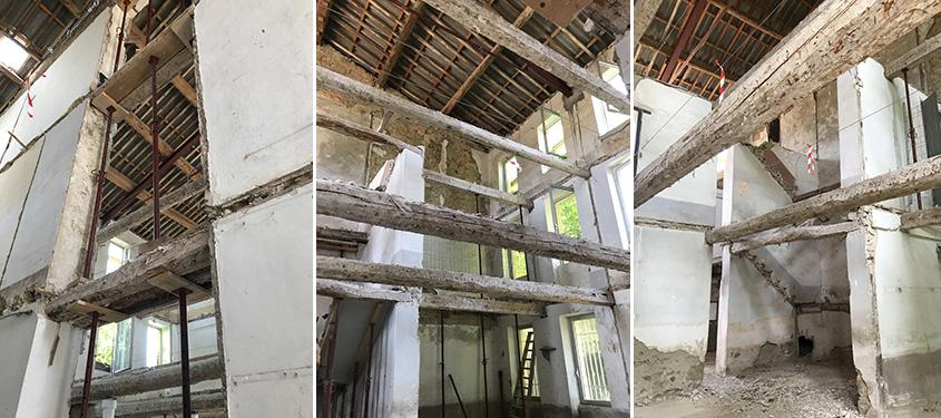 Démarrage des travaux au dépôt archéologique de Mailhac.