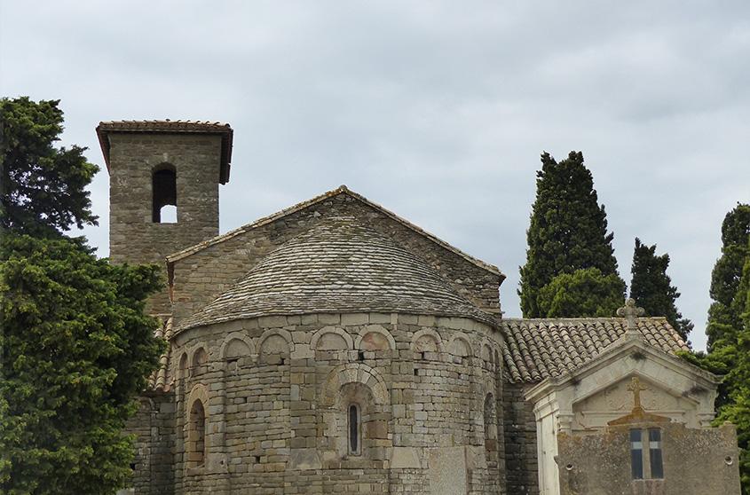 Nous sommes retenus pour les études de diagnostic et les travaux en vue de la restauration générale de la chapelle Notre Dame de Colombier, propriété de la commune de Montbrun-des-Corbières (11).