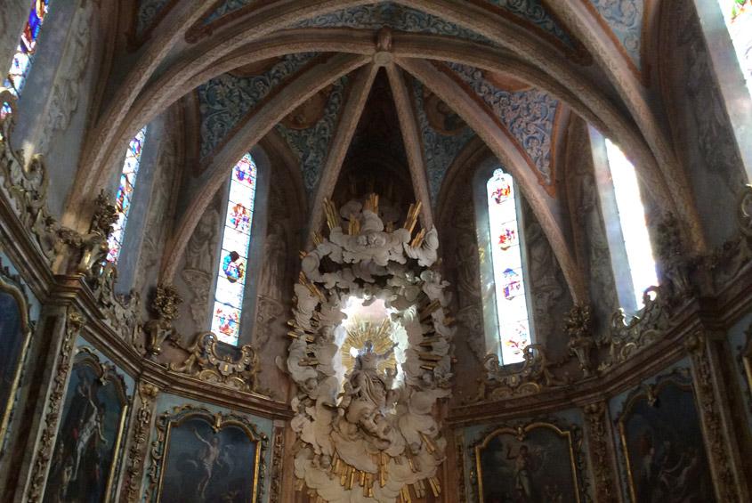 Nous sommes retenus pour les études de diagnostic et les travaux en vue de la restauration des intérieurs de l'église Notre-Dame de l'Assomption, propriété de la commune de Fanjeaux (11).